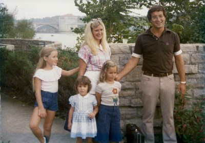 Family's first day at the Columbus Zoo in 1978