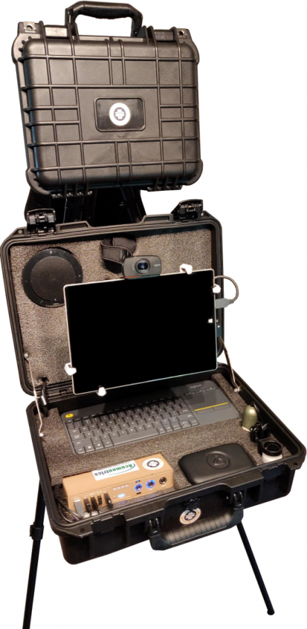 MobileTEK Case by Care On Location, With Acumentrics Pack-Power